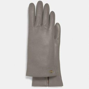 Coach Tech Leather Gloves
